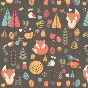 Christmas baby fox 04