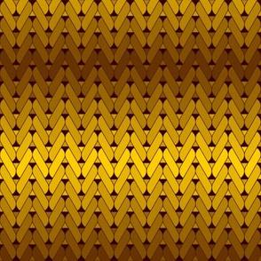04890159 : knitting : golden bronze