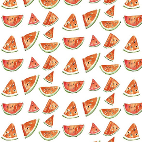 Watermelon slices by Anna