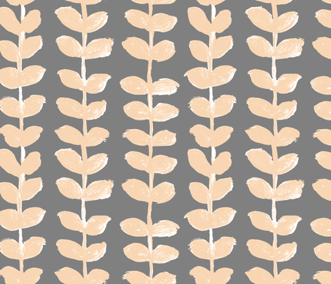 PlantII fabric by susanna_nousiainen on Spoonflower - custom fabric