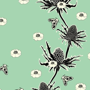 SeaHolly in Seafoam