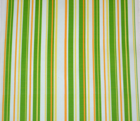 Yellow and Green Candy Stripe