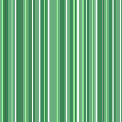 Green Candy Stripes fabric by eclectic_house on Spoonflower - custom fabric