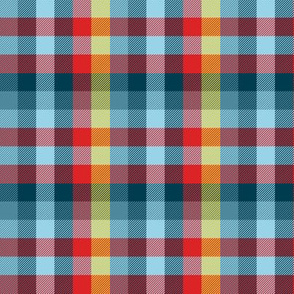sailor's Madras plaid