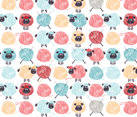 Lambswool fabric by ebygomm on Spoonflower - custom fabric