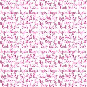 Blogger Pattern