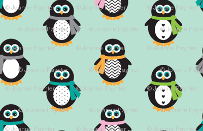 Penguin Scarves