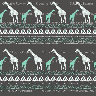 Tribal Giraffes