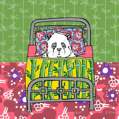 Dream panda_quilter block
