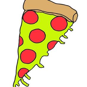 pizza plush // pizza pepperoni cut and sew plush kids novelty food funny food craft kit
