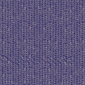 Sketchy Knit in Blue and Grey
