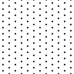 black dot fabric // spot mini dots polka dots baby nursery sweet little preppy dots