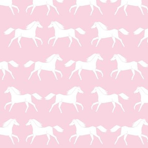 horses // baby girl pastel pink sweet little girls horse nursery horses farm ranch girly
