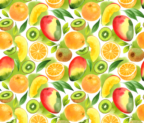 Exotic pattern fabric by achtung on Spoonflower - custom fabric