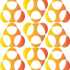 orangeyellowpatern circles