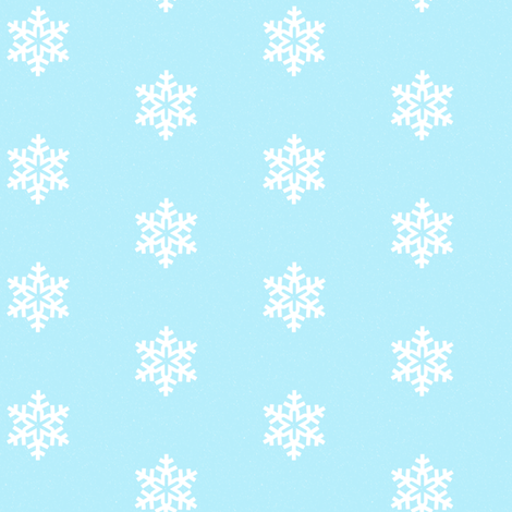 Snowflake-dots fabric by abbie0akley on Spoonflower - custom fabric