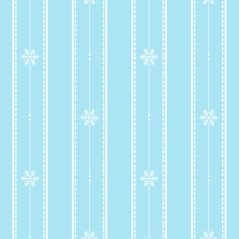 Icicles fabric by abbie0akley on Spoonflower - custom fabric