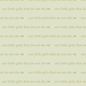 Little Gifts (Pale Green)