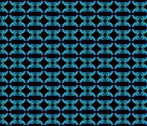 Chambered Nautilus Neg Black Mirror fabric by combatfish on Spoonflower - custom fabric