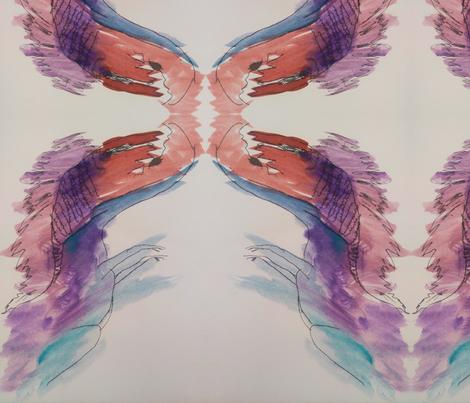 Run Away fabric by ellehappens on Spoonflower - custom fabric