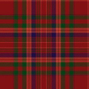 MacCoul / MacDougall tartan, dark