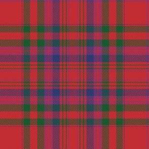 MacCoul / MacDougall tartan, bright