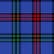 Montgomerie tartan - blue / red / green