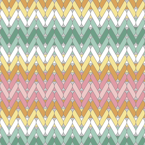 spring stocking knit fabric by sef on Spoonflower - custom fabric