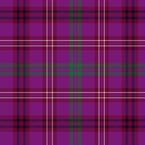 McCall of Caithness tartan - purple