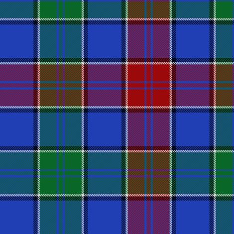 MacMichael tartan fabric by weavingmajor on Spoonflower - custom fabric