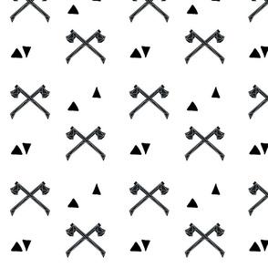 Geometric Double_Axe