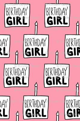 Birthday Girl Pink - Medium