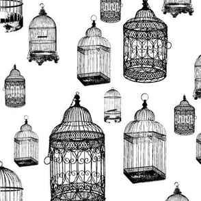 Antique Bird Cages - Large