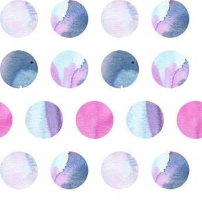 Blue Lagoon Polka Dots