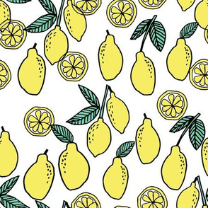 lemons // summer lemonade fruit citrus fruits food