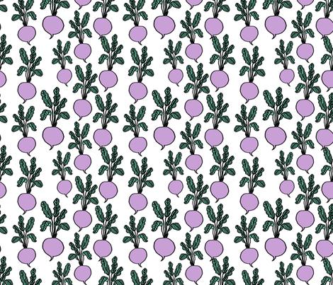 beets // lilac beet root beet vegan veggies farmers market print fabric by andrea_lauren on Spoonflower - custom fabric