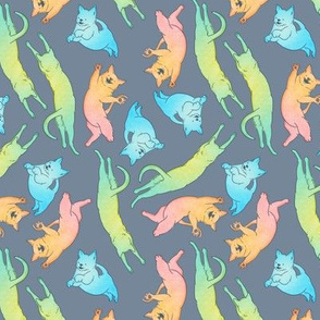 RGB Cats (Slate)