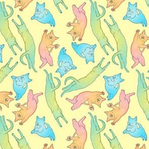 RGB Cats (Yellow)