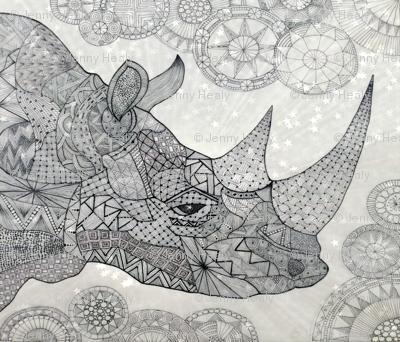Rhino FQ B/W