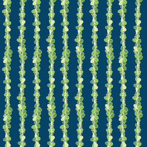 Flux - Green and Blue Leaves