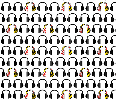 # listen to me, maryland # fabric by shandubdesigns on Spoonflower - custom fabric
