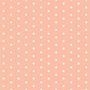 dots // mini dots blush sweet little polka dots girls nursery baby coordinate