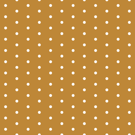 dot // caramel honey spot polka dot sweet dots mini dots fabric by andrea_lauren on Spoonflower - custom fabric