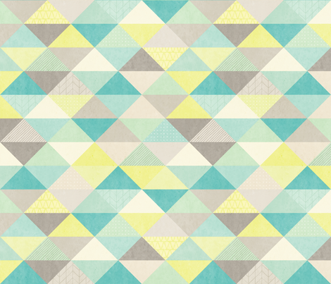 Textured Triangles fabric by andriawig on Spoonflower - custom fabric