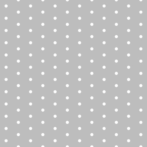 dot // dots mini dots polka dots grey sweet little dots fabric by andrea_lauren on Spoonflower - custom fabric