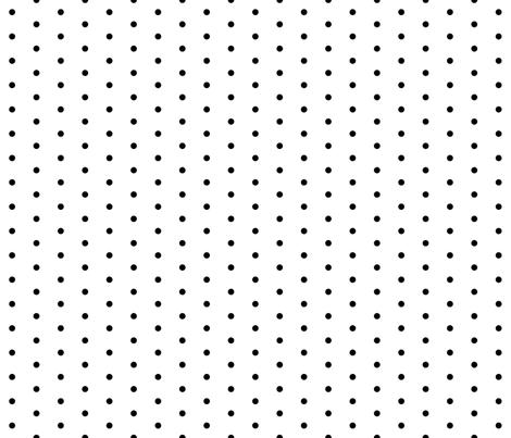dot // spot black dots black spot polka dot larger scale sweet polka dot fabric by andrea_lauren on Spoonflower - custom fabric