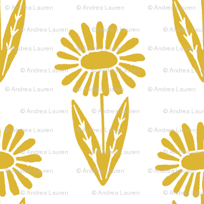 daisies // mustard gold spring easter girls daisy f lowers florals cute design for girls easter spring