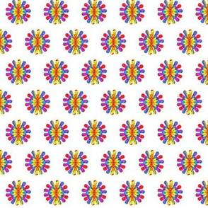 PARTY PIÑATA- FLOWER WHITE