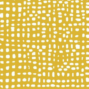 mustard stripes dots grid lines texture linen look