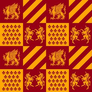 Our Royal Family Fabric V5